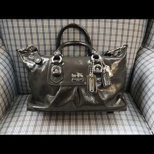 COACH Madison Patent Leather Satchel Bag